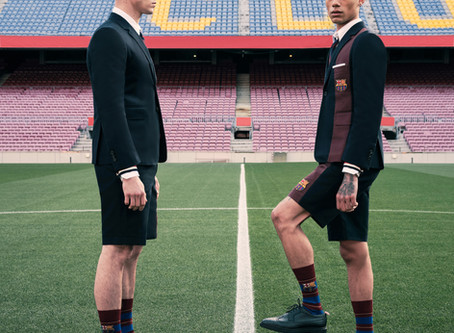 Thom Browne x FC Barcelona Capsule Collection Available Exclusively on Farfetch.com