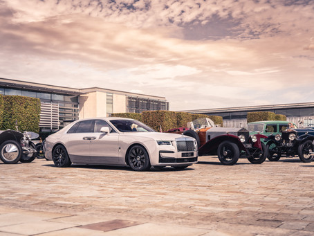 FOREBEARS WELCOME NEW GHOST TO ROLLS-ROYCE FAMILY
