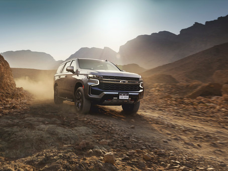 Bigger, Better, Bolder: all-new 2021 Chevrolet Tahoe now on sale in the Qatar!