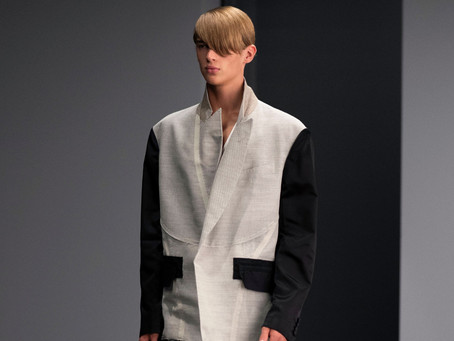 DUNHILL - DECONSTRUCTED TAILORING