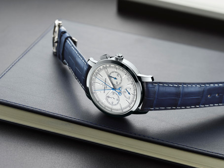 Vacheron Constantin Traditionnelle split-seconds chronograph ultra-thinCollection Excellence Platine