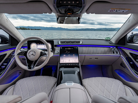 The All-New Mercedes-Benz S-Class with interior architecture and yacht design elements