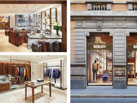 The new Berluti store in Milan