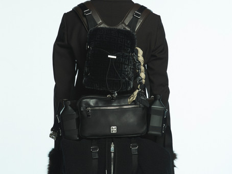 MATTHEW M. WILLIAMS INTRODUCES GIVENCHY VENTURE BAGS FOR MEN