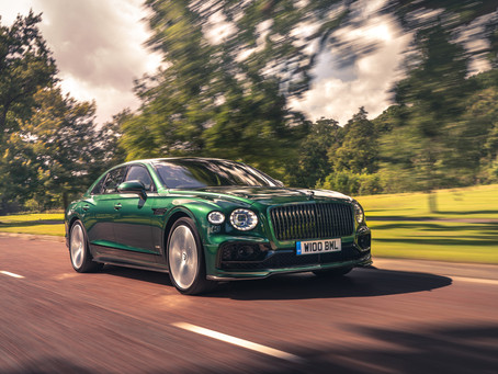 Bentley - NEW OPTIONS EXTEND FLYING SPUR'S LUXURY EVEN FURTHER