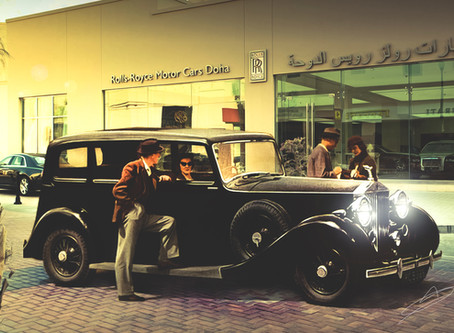 Rolls-Royce: DOHA THROUGH THE EYES OF RETRO