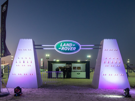 Alfardan Premier Motors opens the off-roading season with its first Land Rover Campsite in Qatar