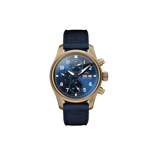 """IWC SCHAFFHAUSEN LAUNCHES SPECIAL PILOT'S WATCH CHRONOGRAPH EDITION """"SULTANATE OF OMAN"""""""