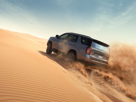 The Official SUV of Action: The All-New Chevrolet Tahoe Z71 Turns Mountains into Molehills