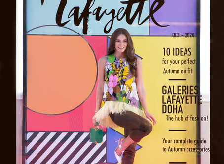 Galeries Lafayette Doha launches pleasantly quirky 'Art Of Fashion' campaign