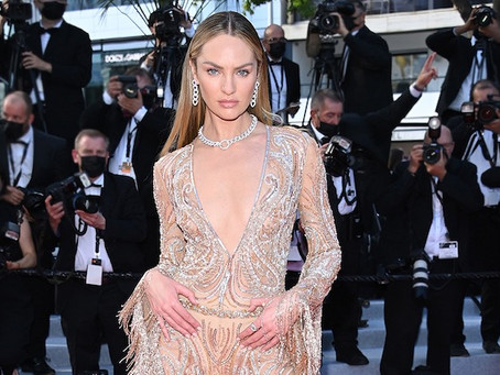 Candice Swanepoel, Kat Graham, Ester Expósito and MJ Rodriguez wear ETRO to the Cannes Film Festival