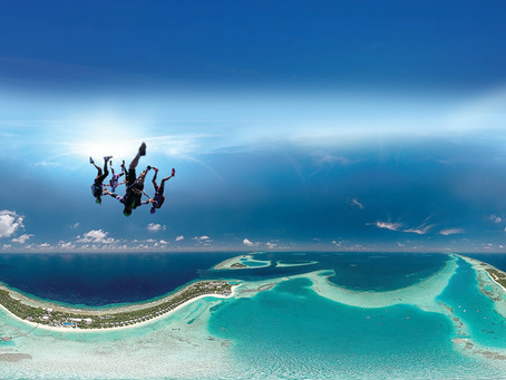 Ready, Set, Skydive! Kandima Maldives launches its koolest adrenaline filled new skydiving programm