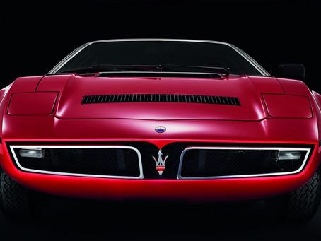 Bora turns 50: Maserati's most rock-and-roll model, by the hand of Giorgetto Giugiaro