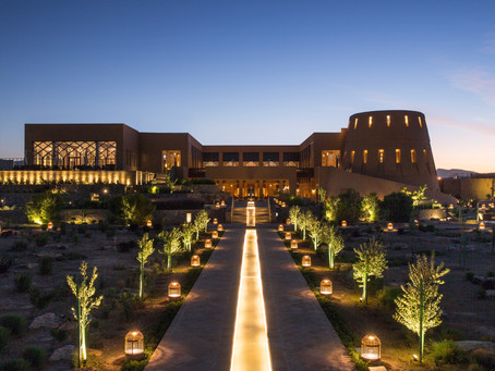 ANANTARA AL JABAL AL AKHDAR RESORT TREATS YOU WITH A SPECIAL GIFT ON NEW YEAR'S DAY