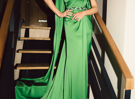 RALPH & RUSSO AND GEMFIELDS PARTNER TO CREATE COUTURE GOWN FORTHE GREEN CARPET FASHION AWARDS