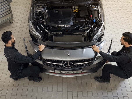 NBK Automobiles presents special offer on body repair for Mercedes-Benz cars