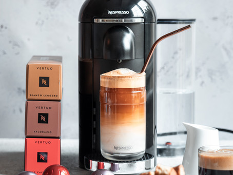 TREAT YOURSELF THIS INTERNATIONAL COFFEE DAY WITH A NESPRESSO MACHINE UPGRADE