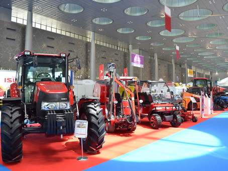Nasser Bin Khaled Heavy Equipment displays the latest agricultural and landscaping equipment
