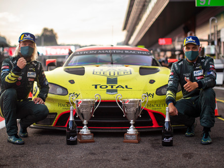 ASTON MARTIN VANTAGE GTE FIGHTS TO DOUBLE-PODIUM FINISH IN SPA