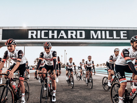 Richard Mille becomes UAE Team Emirates Official Watch Partner