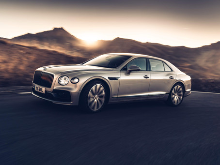 WORLD-FIRST THREE-DIMENSIONAL WOOD PANELS IN ALL-NEW BENTLEY FLYING SPUR