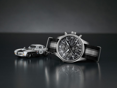"""IWC SCHAFFHAUSEN AND HOT WHEELS LAUNCH LIMITED EDITION """"RACING WORKS"""" SET"""