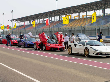 Alfardan Sports Motors gather Prancing Horse aficionados in Qatar at Losail International Circuit