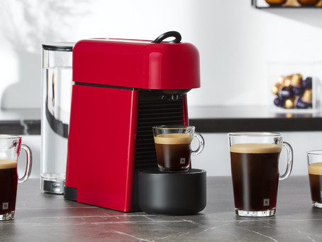 NESPRESSO - DISCOVER THE NEW ESSENZA PLUS, THE IDEAL COFFEE MACHINE FOR SMALLER LIVING SPACES