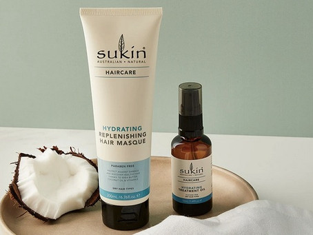 Maintain summer-long gorgeous hair with these essential treatments from Sukin