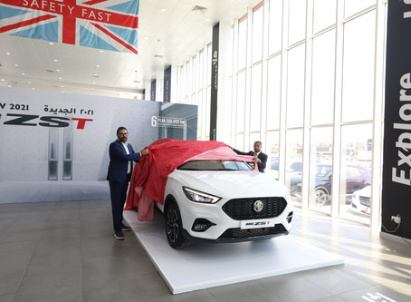 Auto class Cars launches The New MG ZST at Heart of Enhanced Crossover Line-up from British-born Car