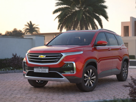 Top 5 Things to Know About the All-New Chevrolet Captiva