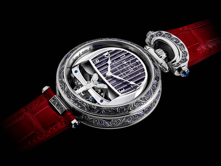 THE ROLLS-ROYCE BOAT TAILTIMEPIECES AN ARTISTIC COLLABORATION WITH BOVET 1822