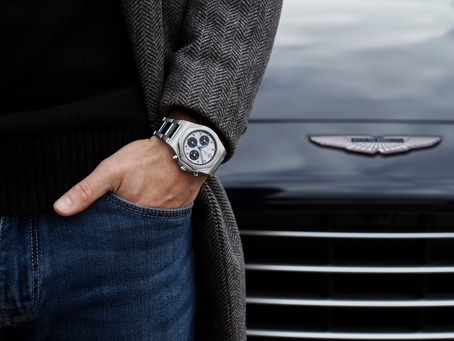 Girard-Perregaux is revealed as Official Watch Partner for Aston Martin