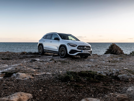 The new Mercedes-Benz GLA ..More character, more space, more safety