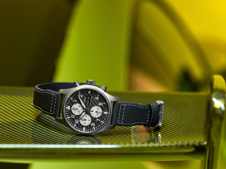 IWC Schaffhausen & long-standing partner Mercedes-AMG launch a performance engineering chronograph