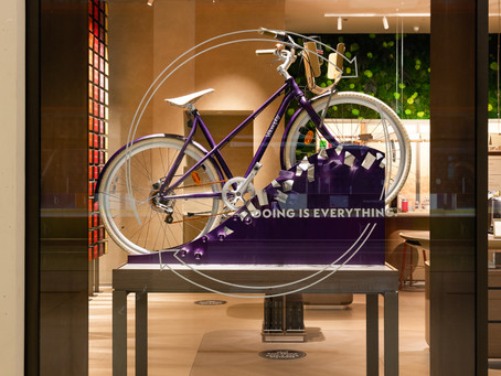 NESPRESSO TAKES RECYCLING UP A GEAR WITH BICYCLE MADE FROM CAPSULES