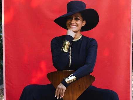 TRACEE ELLIS ROSS WEARS TIFFANY & CO.  AT THE 2021 NAACP IMAGE AWARDS