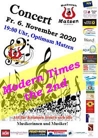 Musikverein_Matzen_modern_times_plakat