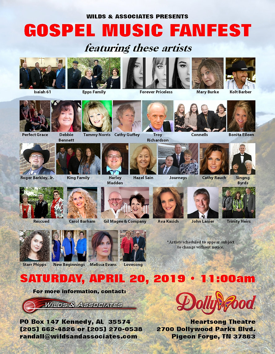 Gospel Music FanFest Dollywood Full MAR