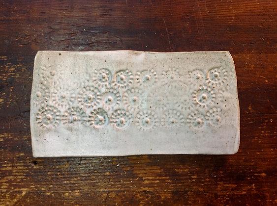 Jaiselmer Plate 1 - White Stone