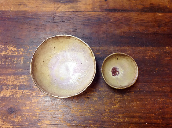 Bowl Nest - Set of 2 - Red Flash - SOLD