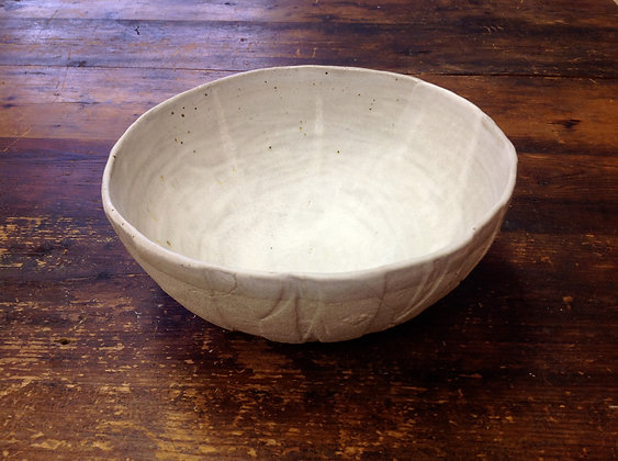 Large Bowl - White Stone