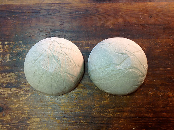Medium Bowls - Set of 2 - White Stone - SOLD