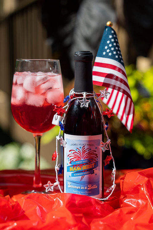 Boom Berry Wine Cocktail