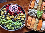 Fruit and Cheese Trays