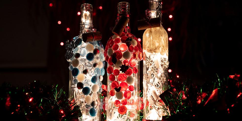Lighted Wine Bottle Workshop