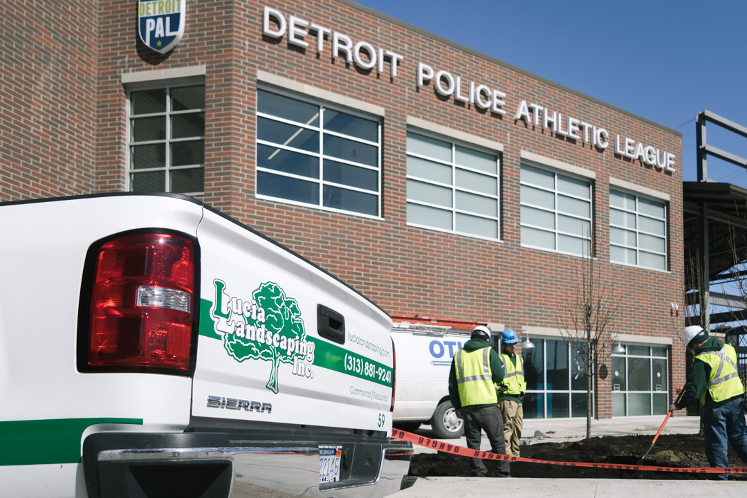 Commercial Landscaping Metro Detroit
