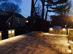 Backyard Patio Lighting