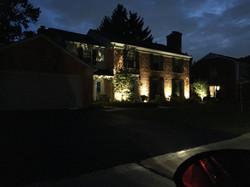 Front Yard Landscape Lighting