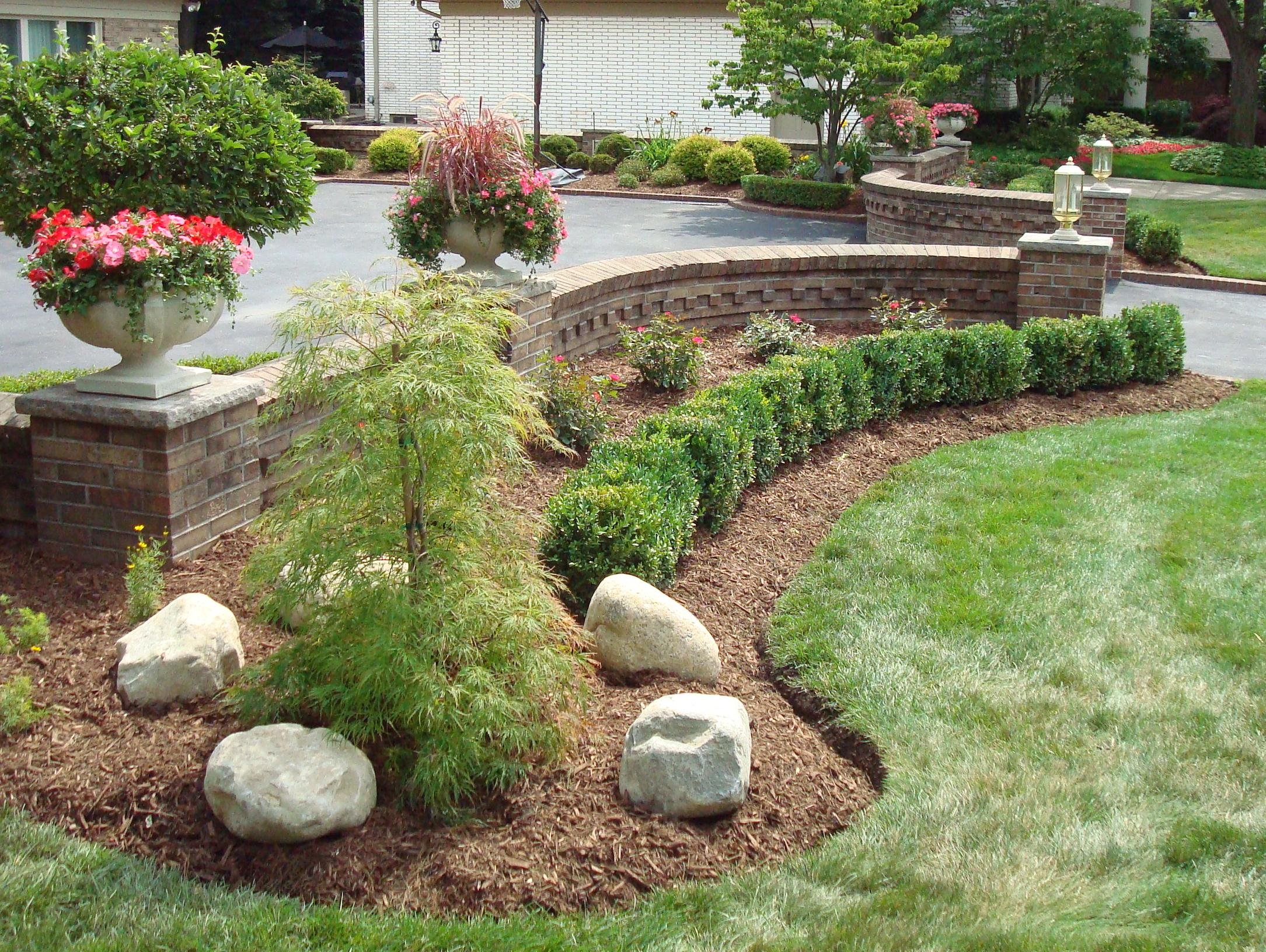 Flower Bed Preservation